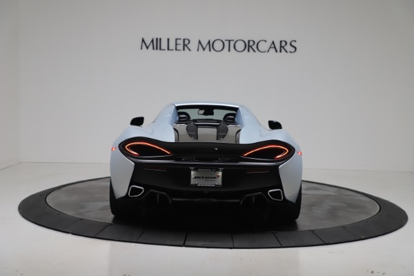 New 2020 McLaren 570S Spider Convertible for sale $256,990 at Alfa Romeo of Greenwich in Greenwich CT 06830 18