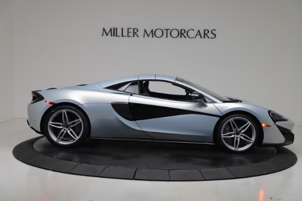 New 2020 McLaren 570S Spider Convertible for sale $256,990 at Alfa Romeo of Greenwich in Greenwich CT 06830 20