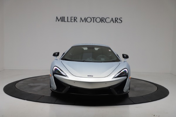 New 2020 McLaren 570S Spider Convertible for sale $256,990 at Alfa Romeo of Greenwich in Greenwich CT 06830 22