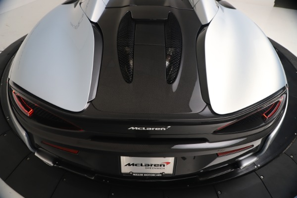 New 2020 McLaren 570S Spider Convertible for sale $256,990 at Alfa Romeo of Greenwich in Greenwich CT 06830 23