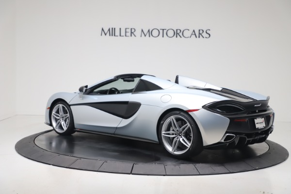New 2020 McLaren 570S Spider Convertible for sale $256,990 at Alfa Romeo of Greenwich in Greenwich CT 06830 3