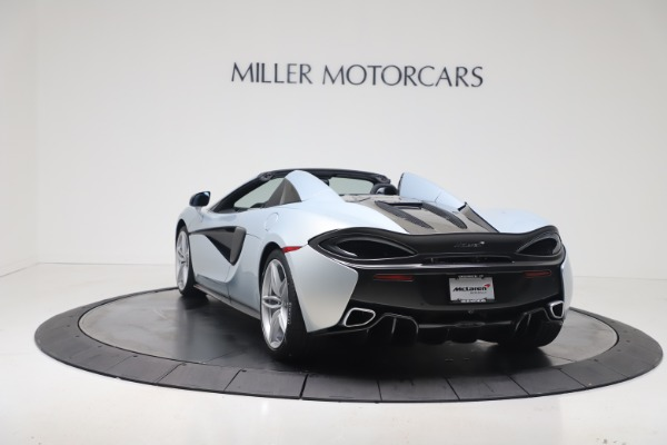 New 2020 McLaren 570S Spider Convertible for sale $256,990 at Alfa Romeo of Greenwich in Greenwich CT 06830 4