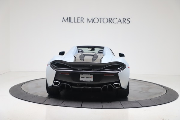 New 2020 McLaren 570S Spider Convertible for sale $256,990 at Alfa Romeo of Greenwich in Greenwich CT 06830 5