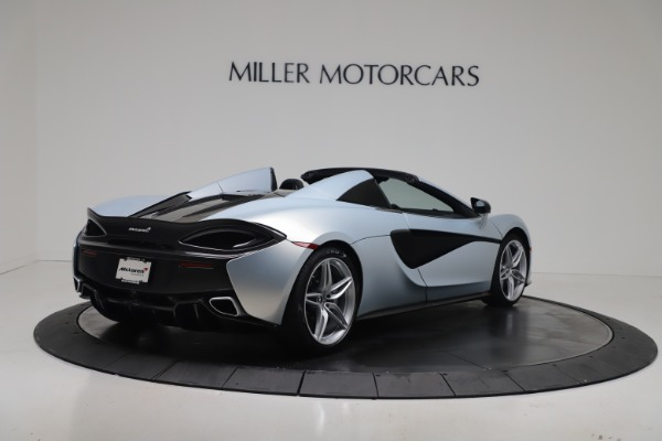 New 2020 McLaren 570S Spider Convertible for sale $256,990 at Alfa Romeo of Greenwich in Greenwich CT 06830 6