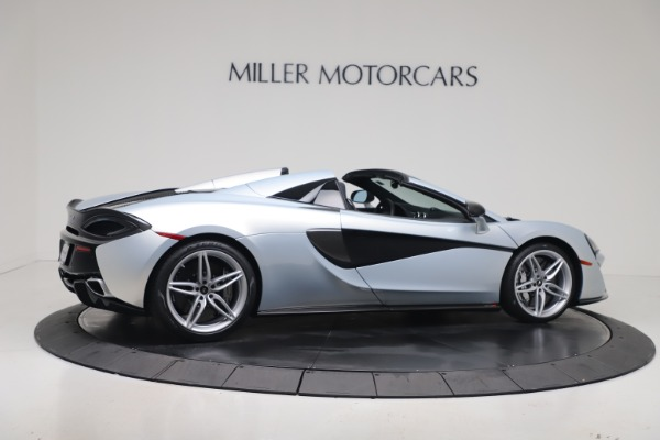 New 2020 McLaren 570S Spider Convertible for sale $256,990 at Alfa Romeo of Greenwich in Greenwich CT 06830 7