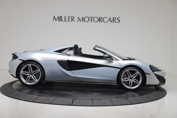 New 2020 McLaren 570S Spider Convertible for sale $256,990 at Alfa Romeo of Greenwich in Greenwich CT 06830 8
