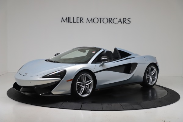 New 2020 McLaren 570S Spider Convertible for sale $256,990 at Alfa Romeo of Greenwich in Greenwich CT 06830 1