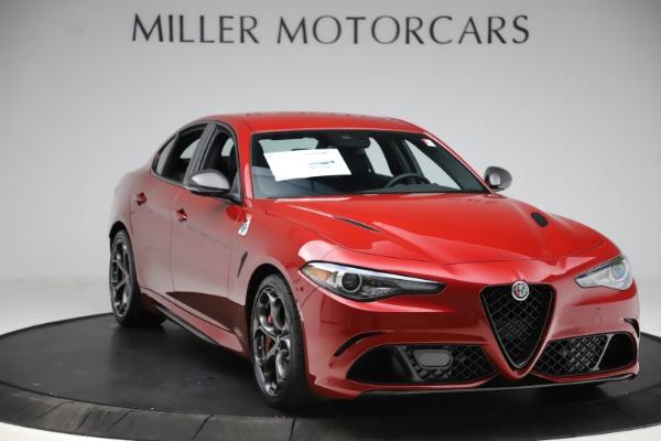 New 2020 Alfa Romeo Giulia Quadrifoglio for sale $83,590 at Alfa Romeo of Greenwich in Greenwich CT 06830 11