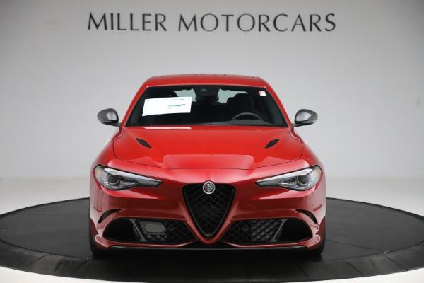 New 2020 Alfa Romeo Giulia Quadrifoglio for sale $83,590 at Alfa Romeo of Greenwich in Greenwich CT 06830 12