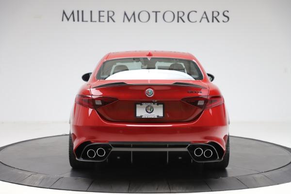 New 2020 Alfa Romeo Giulia Quadrifoglio for sale $83,590 at Alfa Romeo of Greenwich in Greenwich CT 06830 6