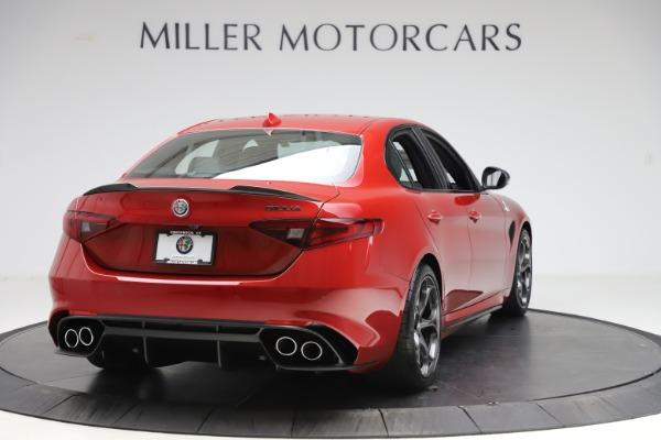 New 2020 Alfa Romeo Giulia Quadrifoglio for sale $83,590 at Alfa Romeo of Greenwich in Greenwich CT 06830 7