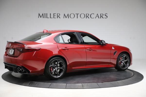New 2020 Alfa Romeo Giulia Quadrifoglio for sale $83,590 at Alfa Romeo of Greenwich in Greenwich CT 06830 8