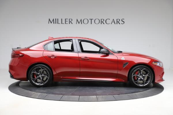 New 2020 Alfa Romeo Giulia Quadrifoglio for sale $83,590 at Alfa Romeo of Greenwich in Greenwich CT 06830 9