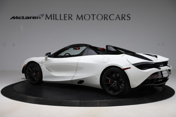 New 2020 McLaren 720S Spider Performance for sale $386,289 at Alfa Romeo of Greenwich in Greenwich CT 06830 3