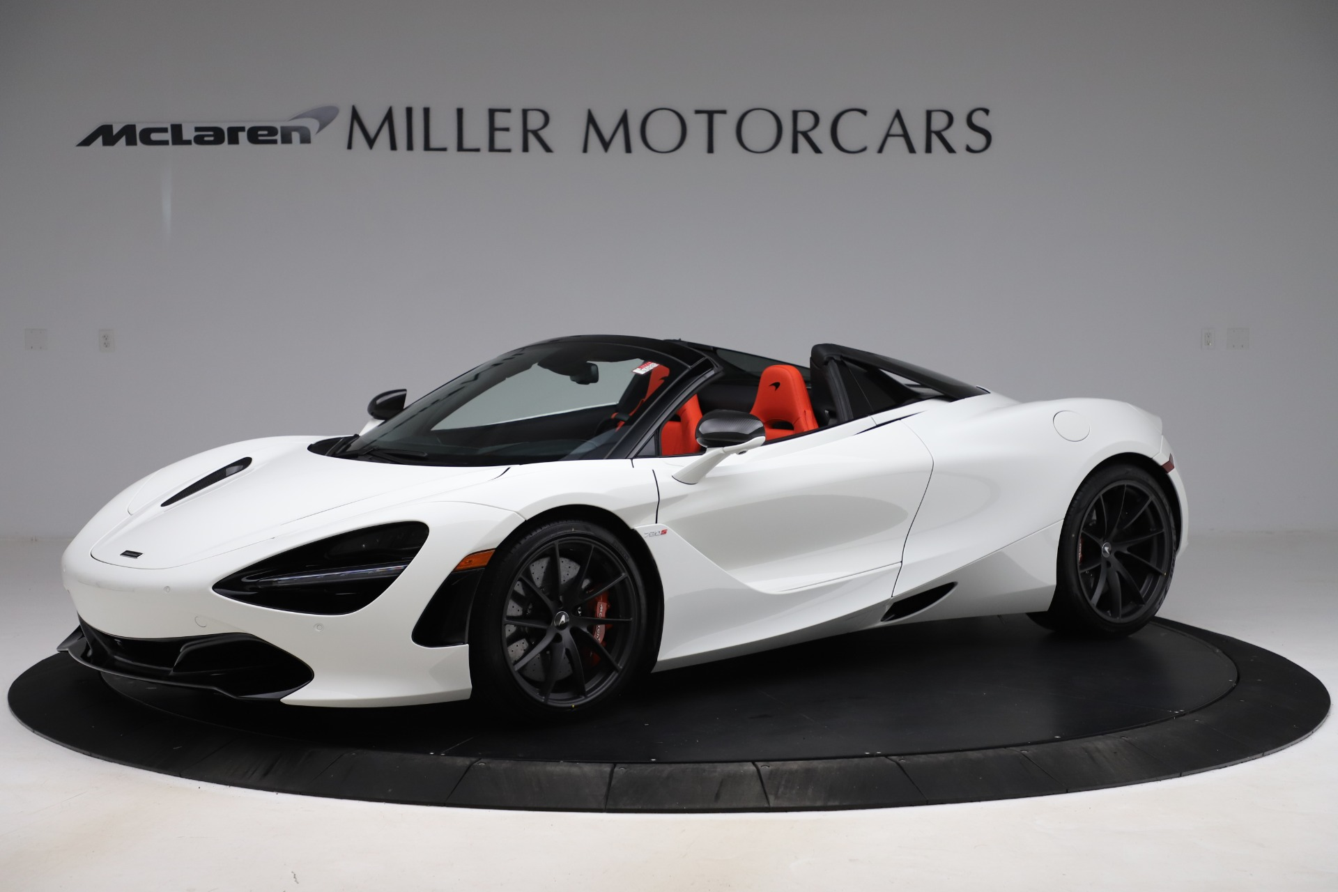 New 2020 McLaren 720S Spider Performance for sale $386,289 at Alfa Romeo of Greenwich in Greenwich CT 06830 1