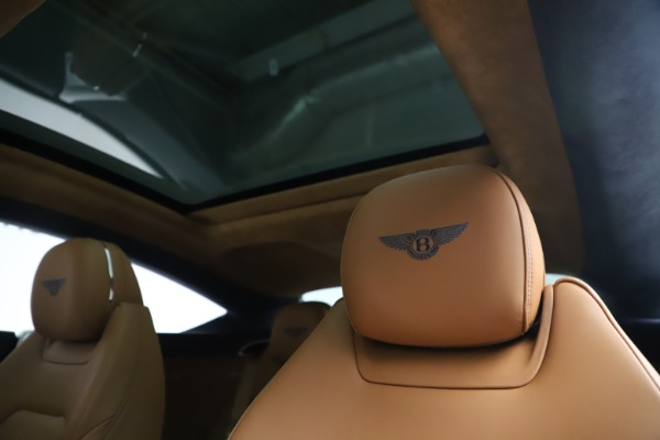 New 2020 Bentley Continental GT W12 for sale $260,770 at Alfa Romeo of Greenwich in Greenwich CT 06830 21