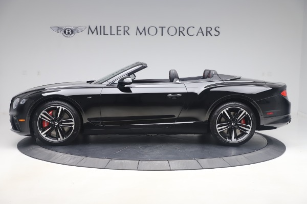 New 2020 Bentley Continental GTC V8 for sale $275,045 at Alfa Romeo of Greenwich in Greenwich CT 06830 3