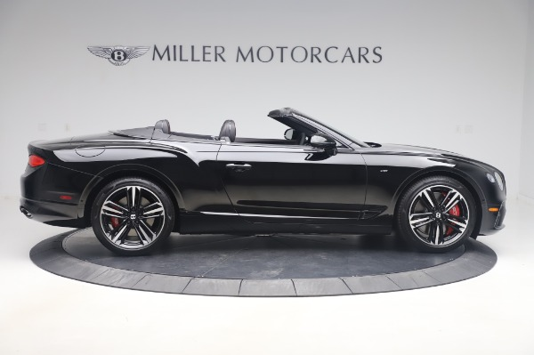 New 2020 Bentley Continental GT Convertible V8 for sale $275,045 at Alfa Romeo of Greenwich in Greenwich CT 06830 9