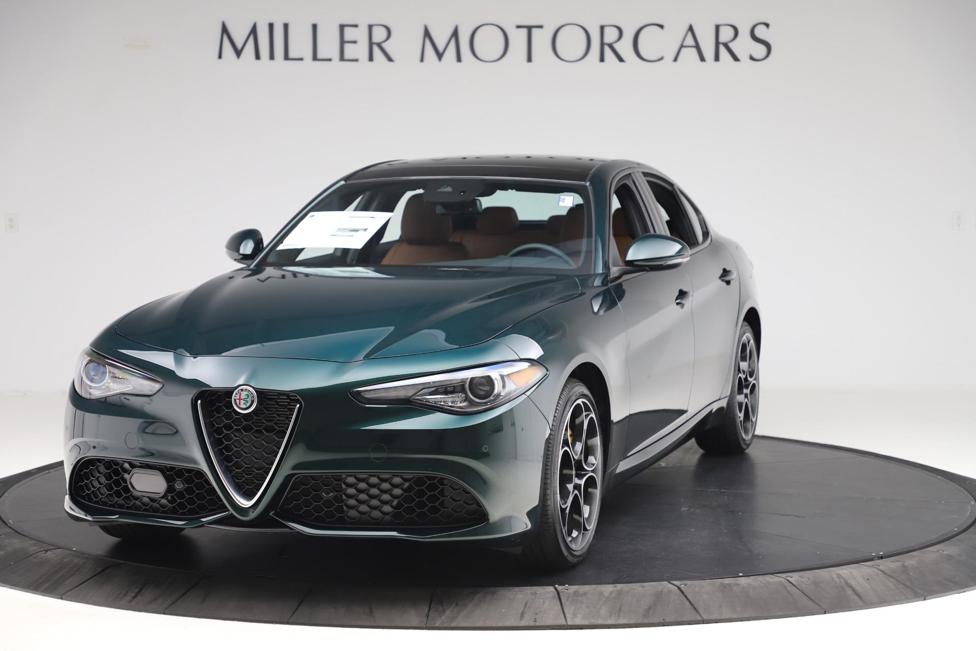 New 2020 Alfa Romeo Giulia Ti Sport Q4 for sale $54,995 at Alfa Romeo of Greenwich in Greenwich CT 06830 1