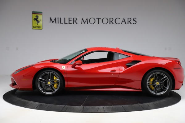 Used 2018 Ferrari 488 GTB for sale Sold at Alfa Romeo of Greenwich in Greenwich CT 06830 3
