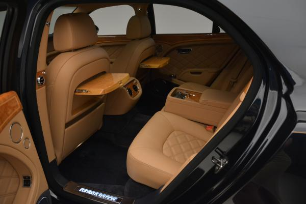 Used 2013 Bentley Mulsanne Le Mans Edition- Number 1 of 48 for sale Sold at Alfa Romeo of Greenwich in Greenwich CT 06830 25
