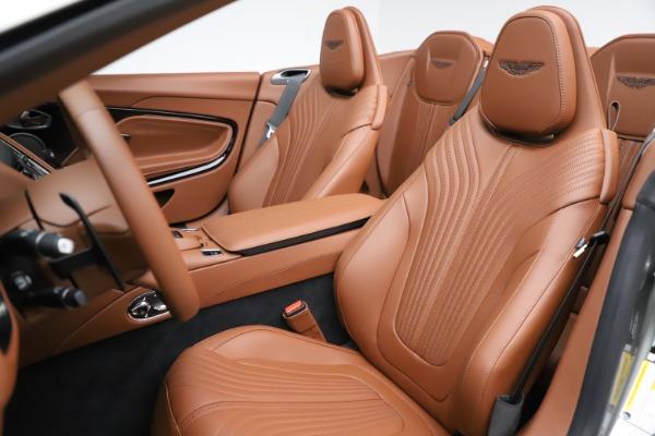 New 2020 Aston Martin DB11 Volante Convertible for sale $264,266 at Alfa Romeo of Greenwich in Greenwich CT 06830 15