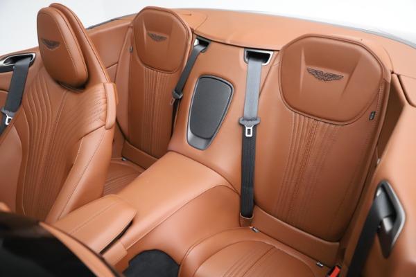 New 2020 Aston Martin DB11 Volante Convertible for sale $264,266 at Alfa Romeo of Greenwich in Greenwich CT 06830 16