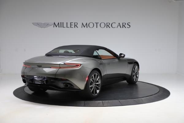 New 2020 Aston Martin DB11 Volante Convertible for sale $264,266 at Alfa Romeo of Greenwich in Greenwich CT 06830 24