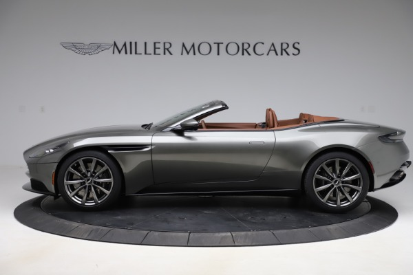 New 2020 Aston Martin DB11 Volante Convertible for sale $264,266 at Alfa Romeo of Greenwich in Greenwich CT 06830 4