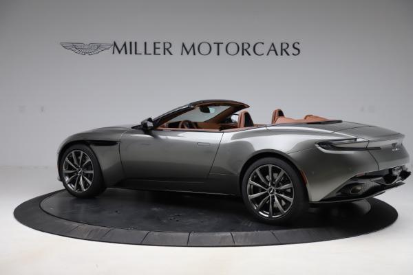 New 2020 Aston Martin DB11 Volante Convertible for sale $264,266 at Alfa Romeo of Greenwich in Greenwich CT 06830 5