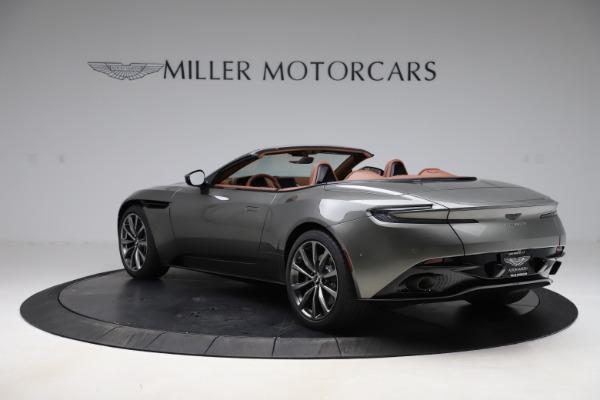 New 2020 Aston Martin DB11 Volante Convertible for sale $264,266 at Alfa Romeo of Greenwich in Greenwich CT 06830 6