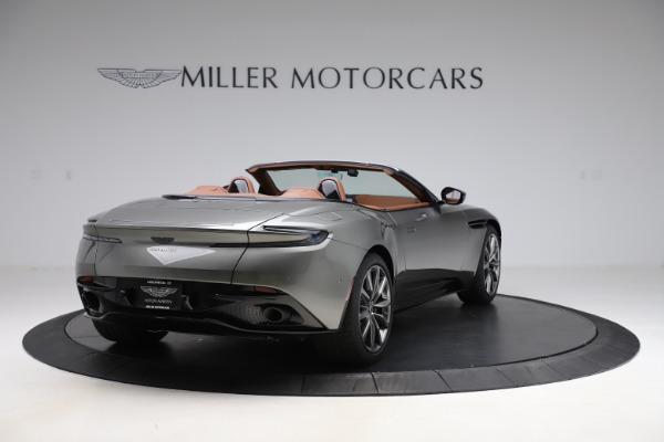 New 2020 Aston Martin DB11 Volante Convertible for sale $264,266 at Alfa Romeo of Greenwich in Greenwich CT 06830 8