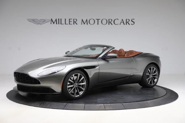 New 2020 Aston Martin DB11 Volante Convertible for sale $264,266 at Alfa Romeo of Greenwich in Greenwich CT 06830 1