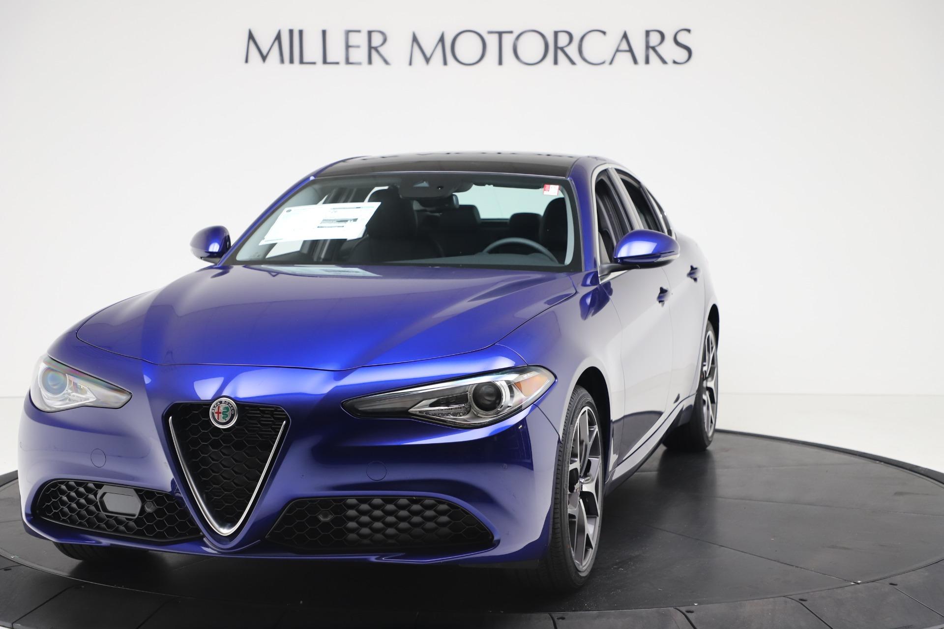 New 2020 Alfa Romeo Giulia Ti Q4 for sale $49,245 at Alfa Romeo of Greenwich in Greenwich CT 06830 1