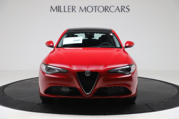 New 2020 Alfa Romeo Giulia Ti Q4 for sale $47,745 at Alfa Romeo of Greenwich in Greenwich CT 06830 11