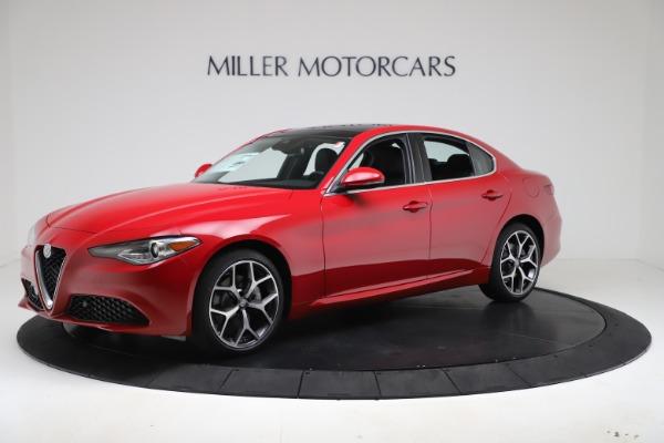 New 2020 Alfa Romeo Giulia Ti Q4 for sale $47,745 at Alfa Romeo of Greenwich in Greenwich CT 06830 2