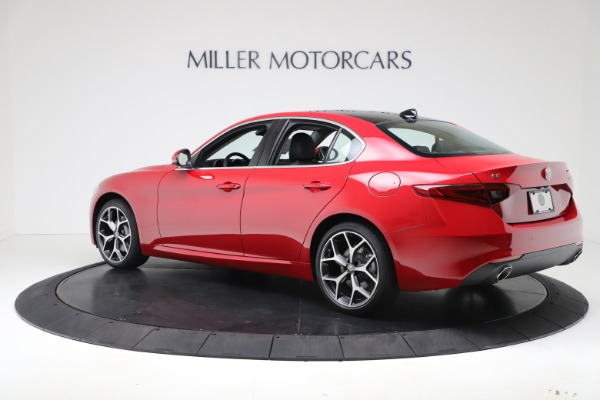 New 2020 Alfa Romeo Giulia Ti Q4 for sale $47,745 at Alfa Romeo of Greenwich in Greenwich CT 06830 4