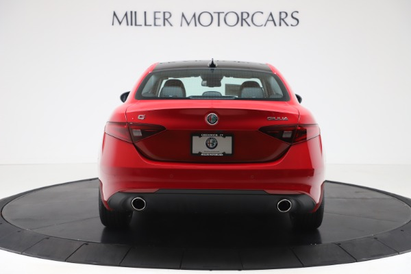 New 2020 Alfa Romeo Giulia Ti Q4 for sale $47,745 at Alfa Romeo of Greenwich in Greenwich CT 06830 6