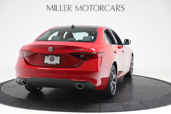 New 2020 Alfa Romeo Giulia Ti Q4 for sale $47,745 at Alfa Romeo of Greenwich in Greenwich CT 06830 7