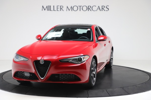 New 2020 Alfa Romeo Giulia Ti Q4 for sale $47,745 at Alfa Romeo of Greenwich in Greenwich CT 06830 1