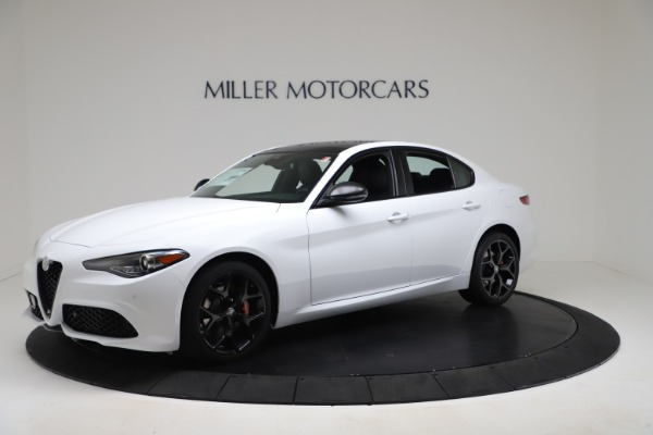 New 2020 Alfa Romeo Giulia Sport Q4 for sale $49,145 at Alfa Romeo of Greenwich in Greenwich CT 06830 2