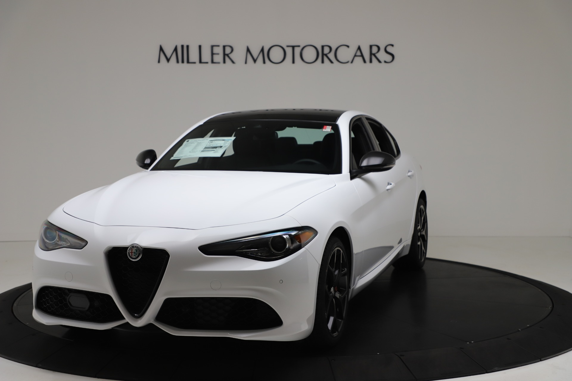New 2020 Alfa Romeo Giulia Sport Q4 for sale $49,145 at Alfa Romeo of Greenwich in Greenwich CT 06830 1