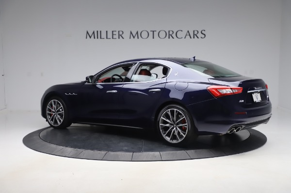 New 2020 Maserati Ghibli S Q4 for sale Sold at Alfa Romeo of Greenwich in Greenwich CT 06830 4