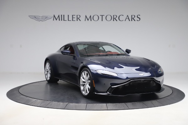 New 2020 Aston Martin Vantage Coupe for sale $177,481 at Alfa Romeo of Greenwich in Greenwich CT 06830 10