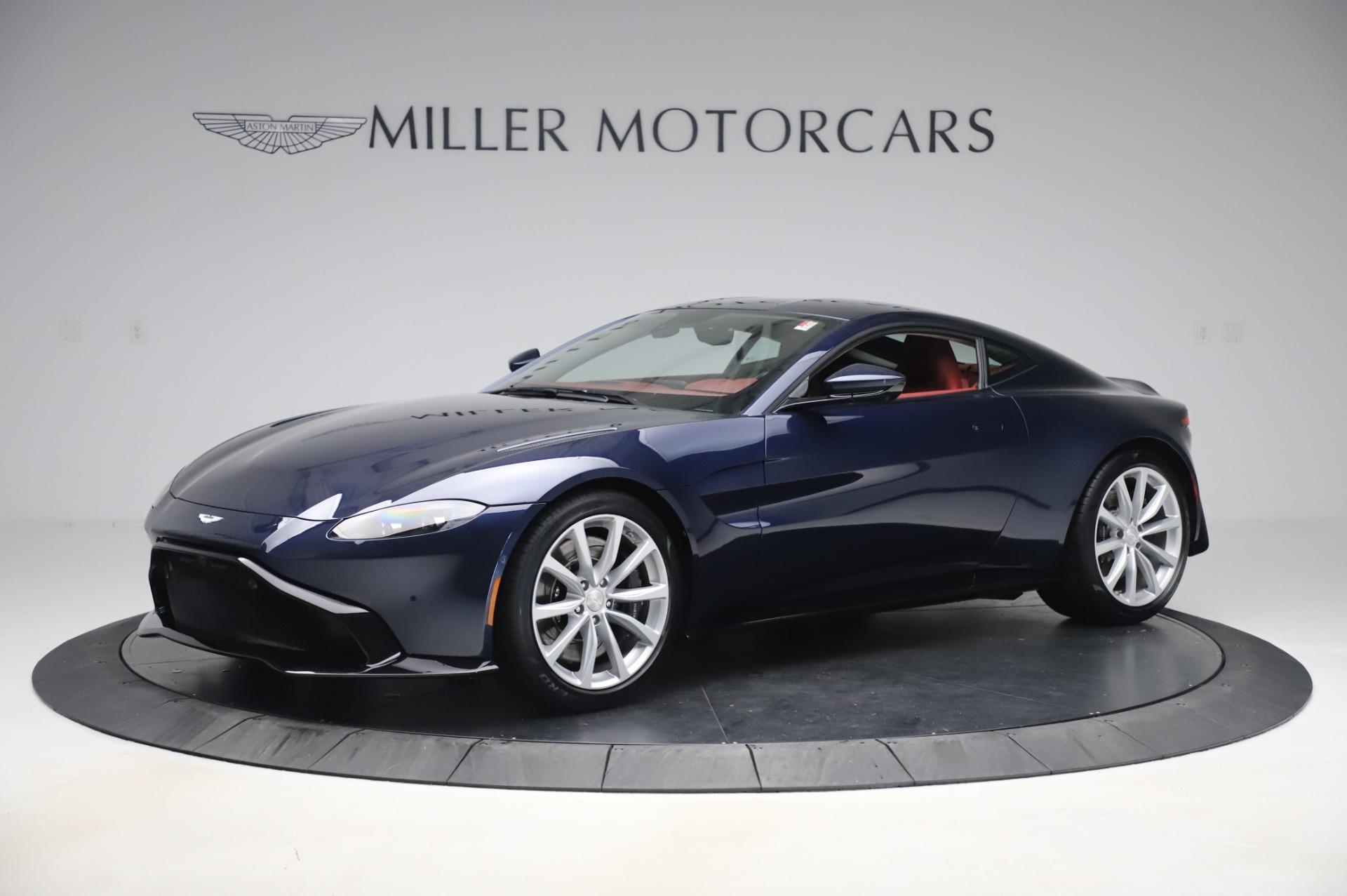 New 2020 Aston Martin Vantage for sale $177,481 at Alfa Romeo of Greenwich in Greenwich CT 06830 1