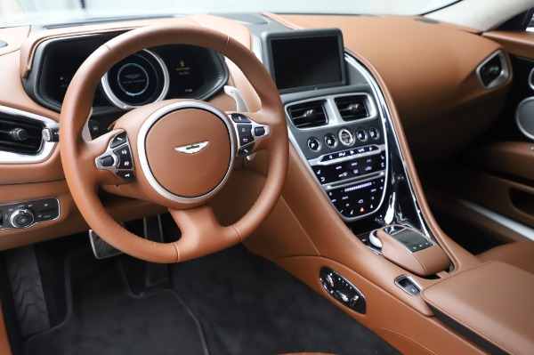 New 2020 Aston Martin DB11 V8 Coupe for sale $233,266 at Alfa Romeo of Greenwich in Greenwich CT 06830 14