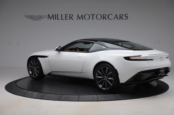 New 2020 Aston Martin DB11 V8 Coupe for sale $233,266 at Alfa Romeo of Greenwich in Greenwich CT 06830 3