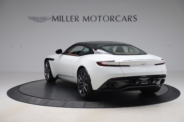 New 2020 Aston Martin DB11 V8 Coupe for sale $233,266 at Alfa Romeo of Greenwich in Greenwich CT 06830 4