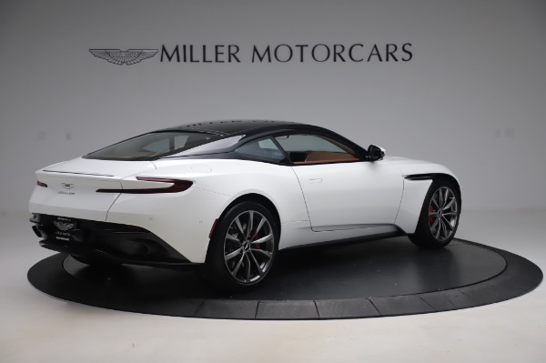 New 2020 Aston Martin DB11 V8 Coupe for sale $233,266 at Alfa Romeo of Greenwich in Greenwich CT 06830 7