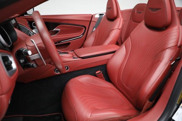 New 2020 Aston Martin DB11 Volante Convertible for sale $247,386 at Alfa Romeo of Greenwich in Greenwich CT 06830 21
